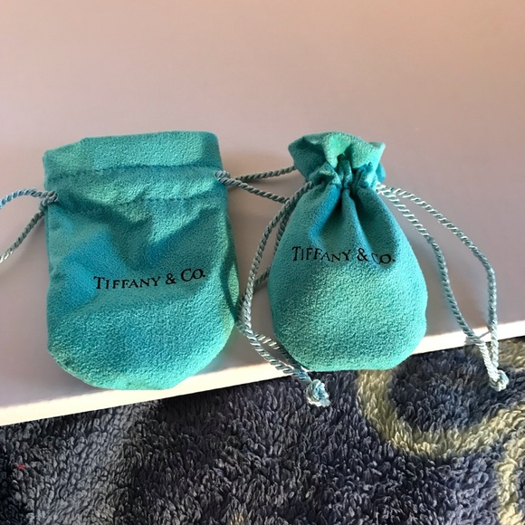 Tiffany & Co. Handbags - Two Tiffany & Co dust pouch/ jewelry protector